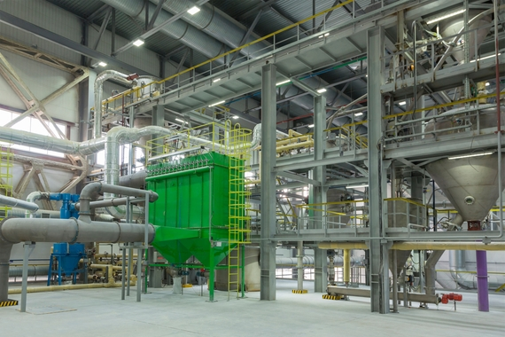 Chemical plant polymerization stirring vessel - crystallization affects your output line