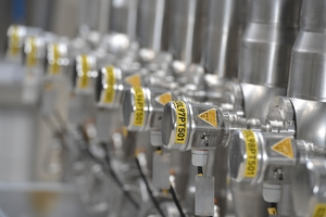 Standardized pressure instrumentation in a dairy plant